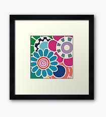 Five Blooms Framed Print