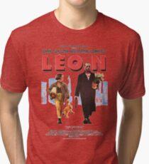 LEON the professional vintage Tri-blend T-Shirt