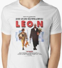 LEON the professional vintage Men's V-Neck T-Shirt
