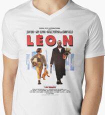LEON the professional vintage Men's V-Neck T-Shirt