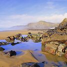 Cornwall: Colourful Rocks at Sandymouth Bay by Rob Parsons