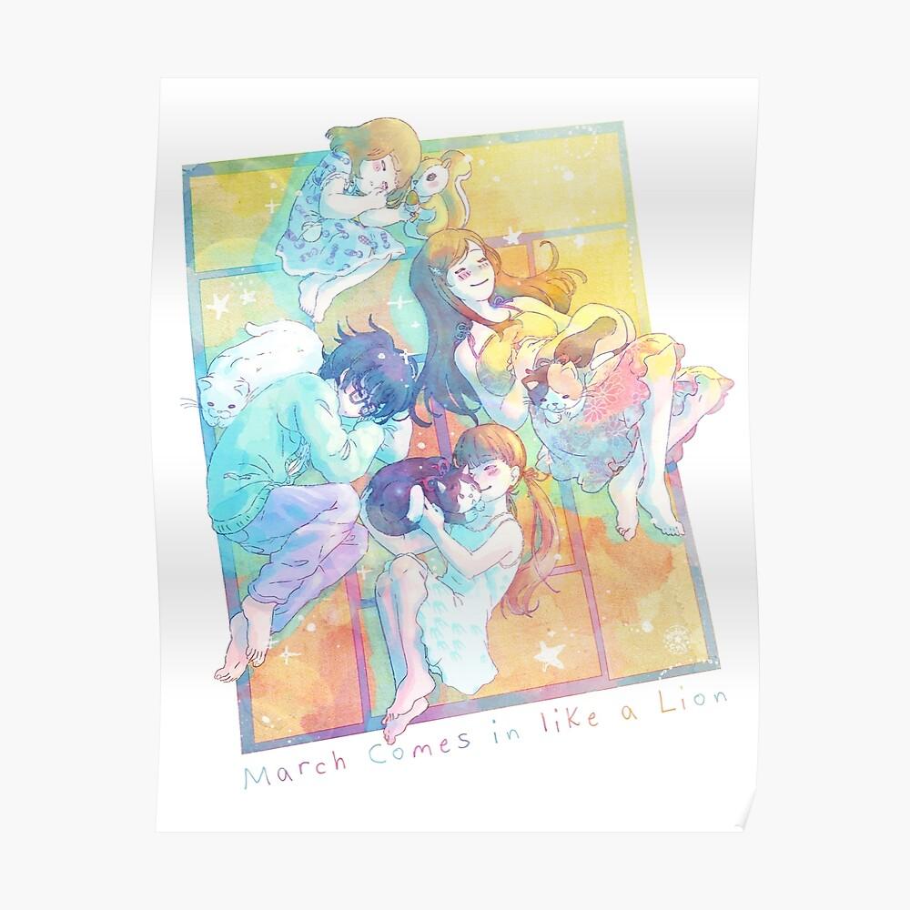 Sangatsu no Lion - Nap in spring Poster