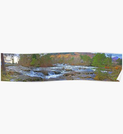 Falls of Dochart Panorama Poster