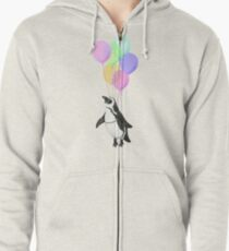 I can believe I can fly Zipped Hoodie