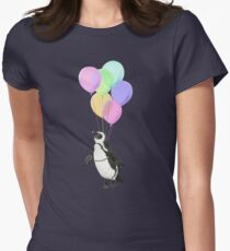 I can believe I can fly Womens Fitted T-Shirt