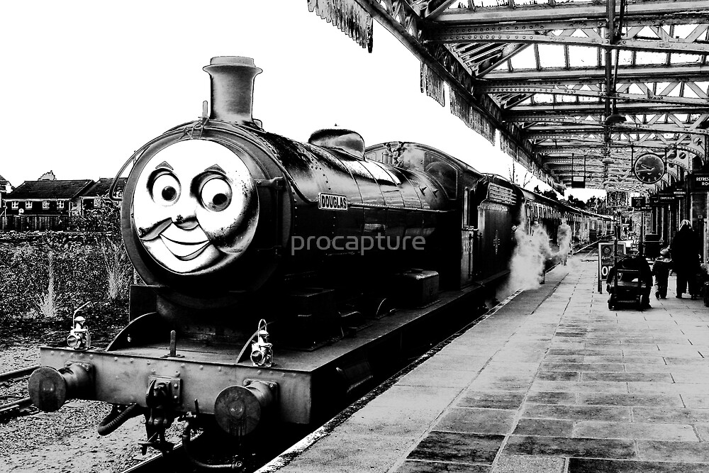 Douglas, The Steam Engine by procapture