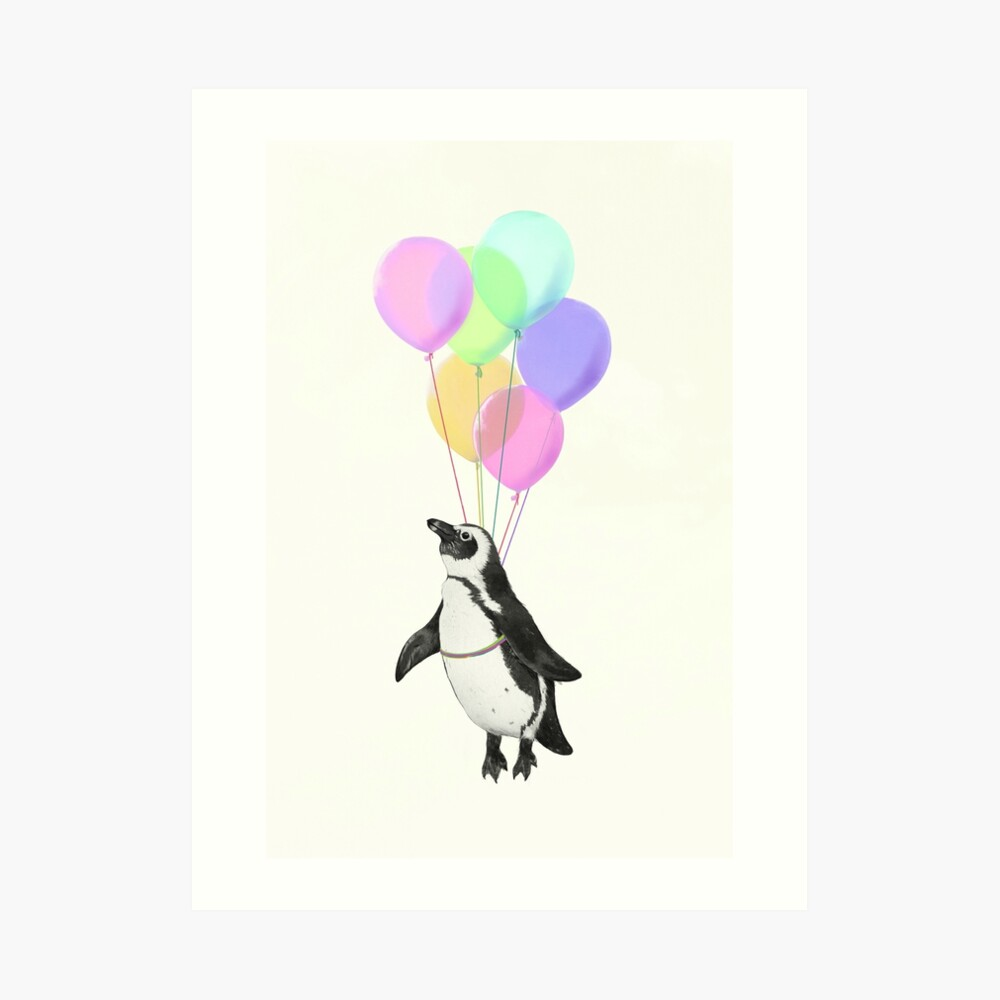 I can believe I can fly Art Print