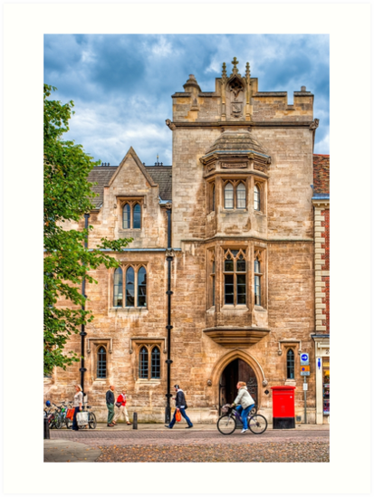 Streets of Cambridge England by Mark Tisdale