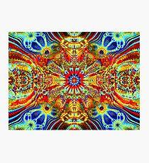 Cosmic Creatrip2 - Psychedelic trippy visuals Photographic Print