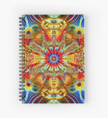 Cosmic Creatrip2 - Psychedelic trippy visuals Spiral Notebook