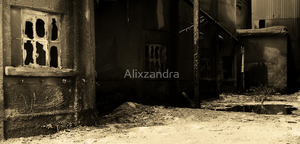 Cement Alley by Alixzandra