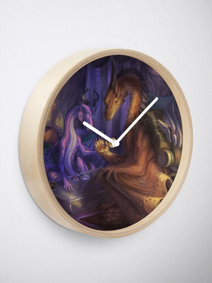 Alternate view of A Clouded Future Clock