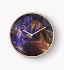A Clouded Future Clock