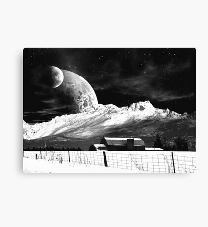 Home Sweet Homestead Canvas Print
