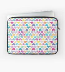 Rainbow Wild Hearts Laptop Sleeve