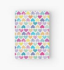 Rainbow Wild Hearts Hardcover Journal