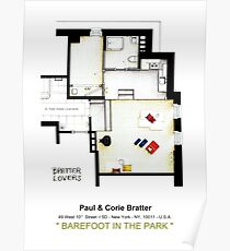 BAREFOOT IN THE PARK - (Almost) Empty apartment Poster