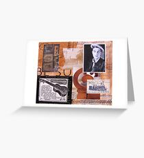 Buster Squares Greeting Card