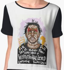 Kendrick Lamar Chiffon Top