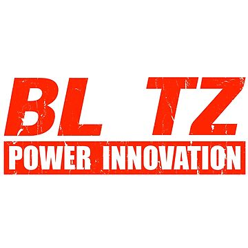 Blitz Power Innovation RED DISTRESSED by JackCinq