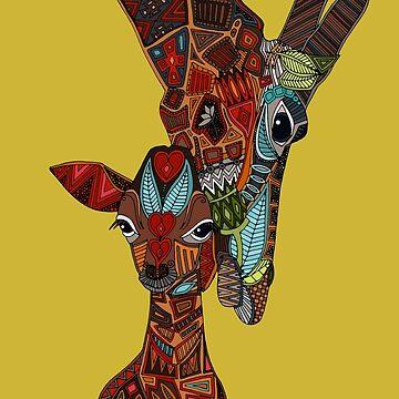 Giraffe Liebe Ocker von scrummy