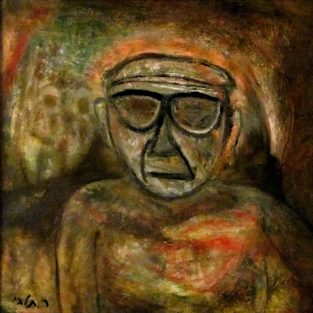 An old man during WW2 by RAFI TALBY
