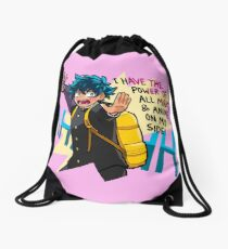 POWER OF ALL MIGHT Drawstring Bag