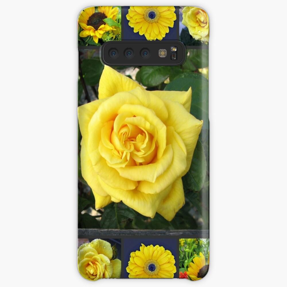 Goldene Schönheiten Collage Hüllen & Klebefolien für Samsung Galaxy