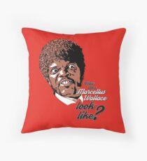 Jules Winnfield - Pulp Fiction Throw Pillow