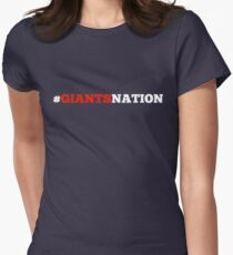 Giants Nation Womens Fitted T-Shirt