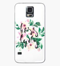 Boss Lady Aquarell, Aquarell Kunst Hülle & Skin für Samsung Galaxy