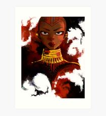 Okoye The Ultimate Bae Art Print