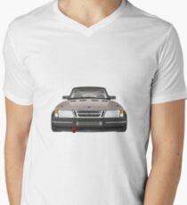 Saab 900 - Schwartz Men's V-Neck T-Shirt
