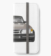 Saab 900 - Schwartz iPhone Wallet/Case/Skin