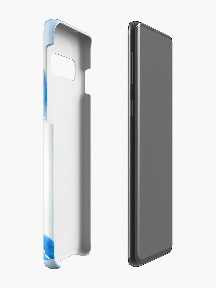 Alternative Ansicht von Soft Buster Aquarell Hülle & Klebefolie für Samsung Galaxy