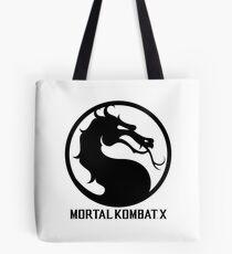 Mortal Kombat X LOGO Tote Bag