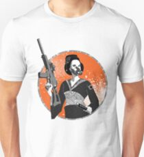 Geisha and Machine Gun T-Shirt