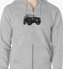 Shift Shirts OG - AMG G-Wagon Inspired Zipped Hoodie