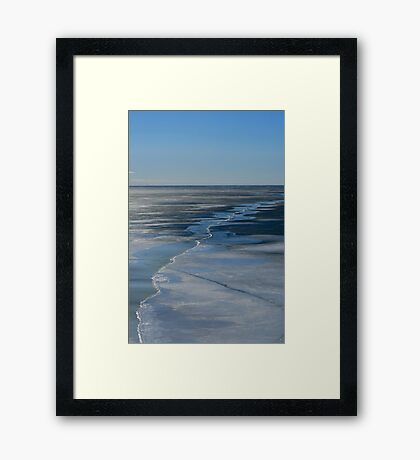 EARLY THAW Framed Print