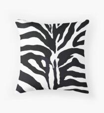 Zebra-Druck Dekokissen