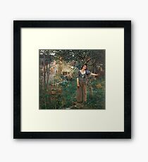 Jeanne d'Arc 1879 Jules Bastian-Lepage Framed Print