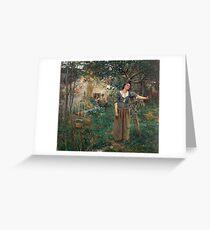 Jeanne d'Arc 1879 Jules Bastian-Lepage Greeting Card