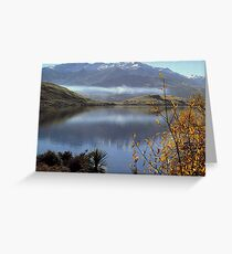 Let the nature enlarge your spirit Greeting Card