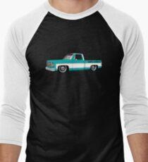 Shift Shirts Slammed Square - SQUAREBODY Inspired  Men's Baseball ¾ T-Shirt