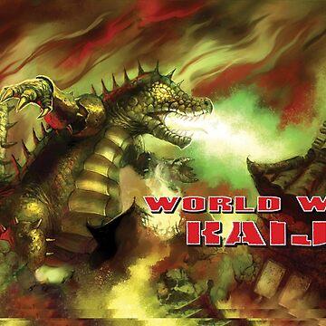 World War Kaiju Mug by 01Publishing