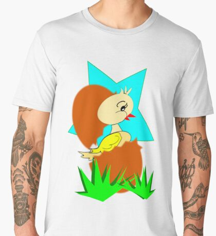 chick (8951 Views) Men's Premium T-Shirt