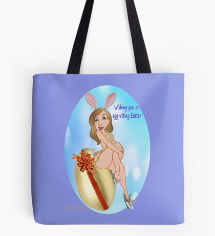egg-citing Easter ( 2326 Views) Tote Bag