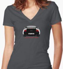 Shift Shirts Black Widow – Porsche 911 996 GT2 Inspired Unisex T-Shirt Fitted V-Neck T-Shirt