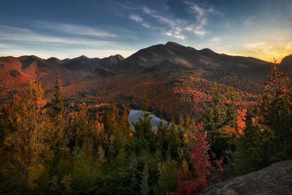 Autumn in the Adirondacks, New York. by mattmacpherson