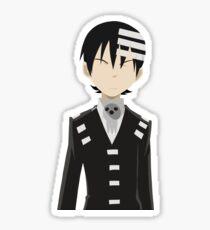 Soul Eater - Death the Kid Minimalist Sticker